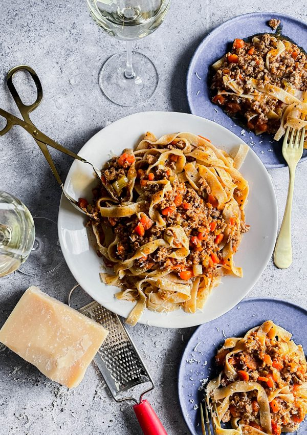 You Have to Make my Traditional Bolognese, Lightened Up!