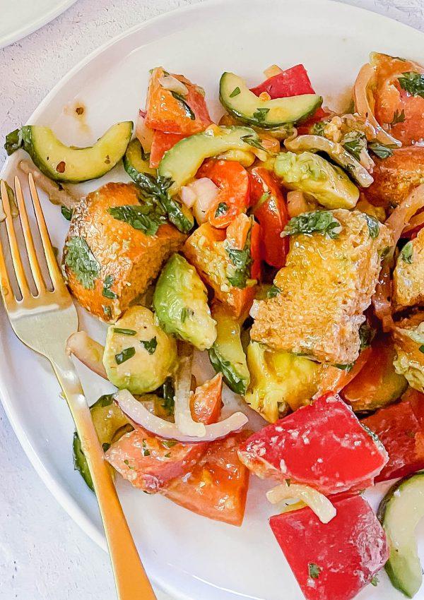 My California Panzanella is the Salad of Summer 2021
