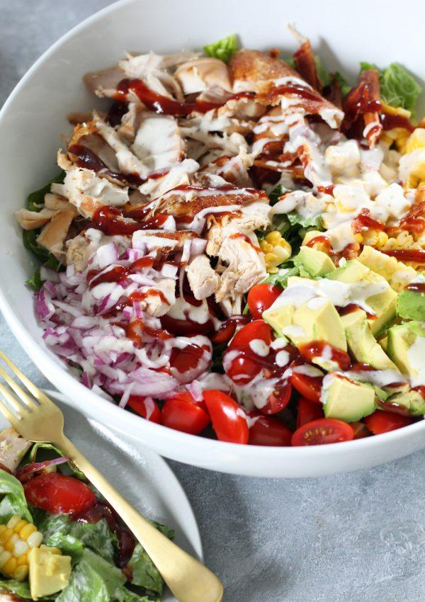 The Best Last-Minute Salad Ever- My BBQ Chicken Salad