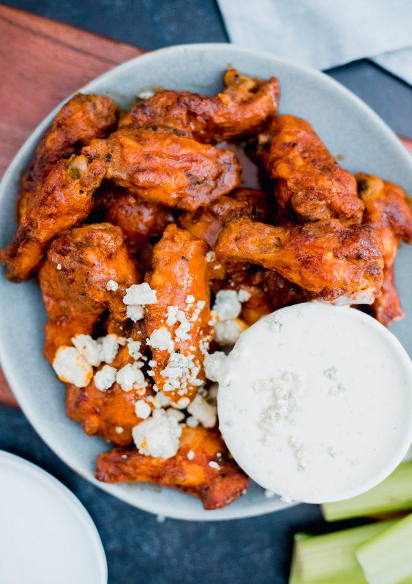 Baked Buffalo Chicken Wings Are The Healthy Hero of Football Sundays
