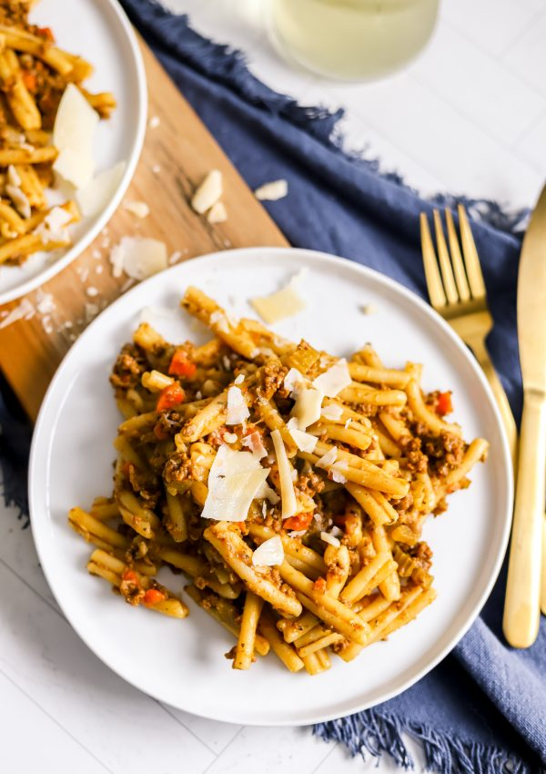 My Pumpkin Bolognese Will Easily Become Your Favorite Pumpkin Recipe This Fall!